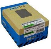 Proftec Metaalschroef zelfborende plaatschroef DIN7504K zeskant-KOP verzinkt 4.8X25 (200 stuks)