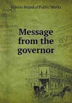 Message from the Governor
