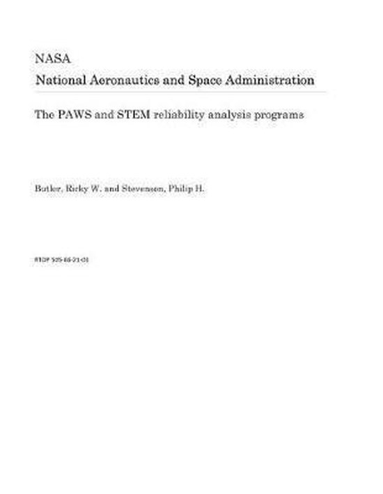 The Paws and Stem Reliability Analysis Programs