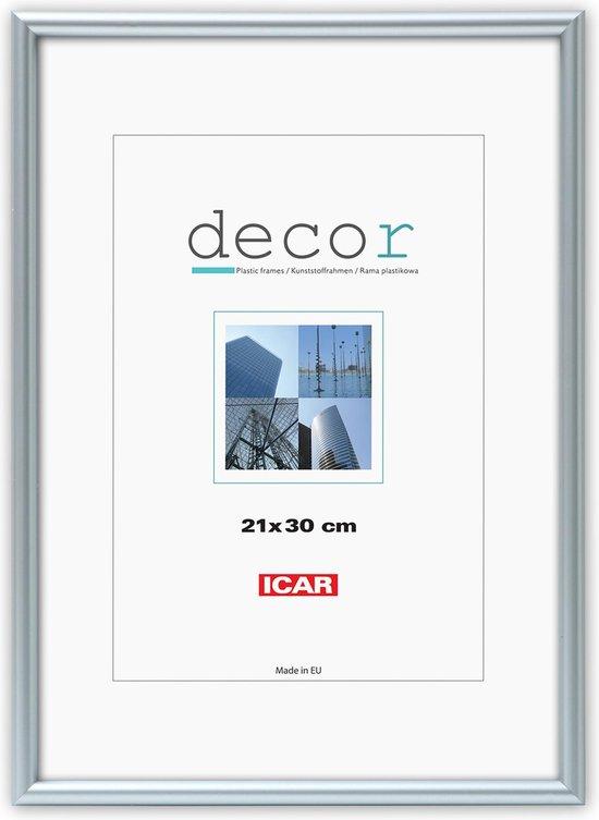 Icar Kunststof Fotolijst Decor CPSM Zilver 40x60 cm
