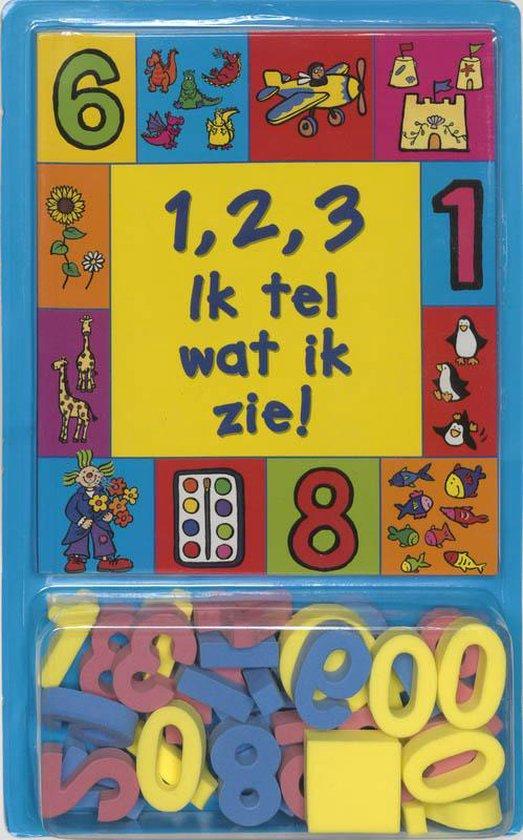 Cover van het boek '1, 2, 3 ik tel wat ik zie !' van Patti Barber
