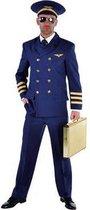 Piloten kostuum voor heren 60-62 (xl)