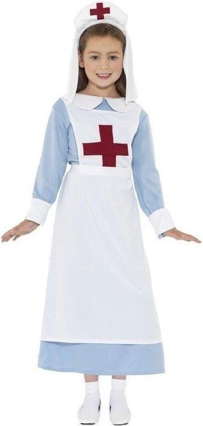 Ouderwets verpleegster kostuum voor meisjes 110/122