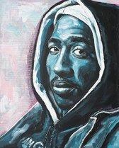 2pac canvas print (40x60cm)