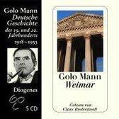 Boek cover Weimar van Golo Mann