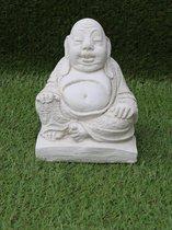 Tuinbeeld boeddha - decoratie voor binnen/buiten - beton