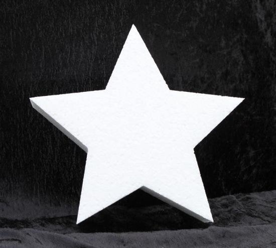 Piepschuim vorm ster 10 cm
