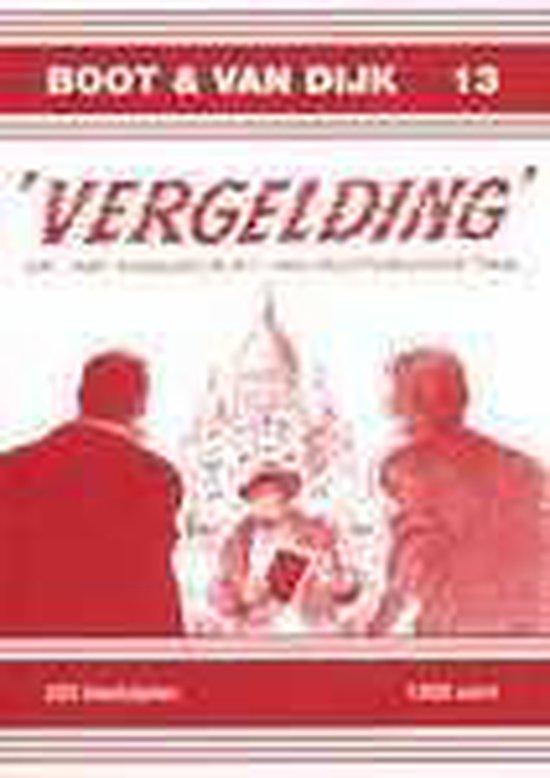 Cover van het boek ''Vergelding', of: het manuscript van doctorandus Tak' van K. Sparreboom