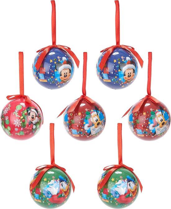 Mickey™ kerstballen - Feestdecoratievoorwerp