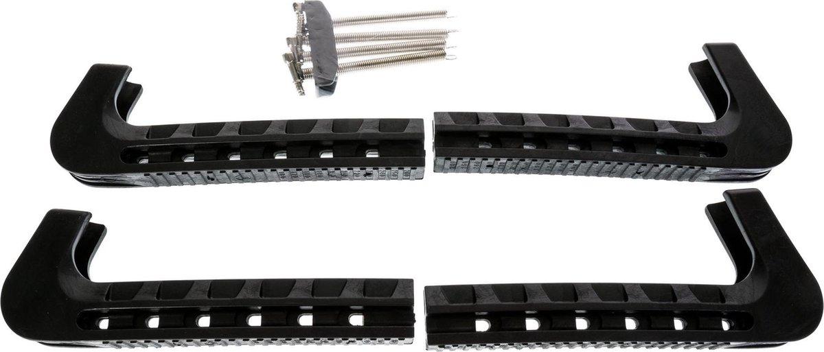 Zandstra Schaatsbeschermers - Maat One size - zwart