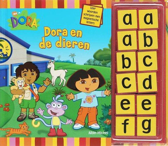 Cover van het boek 'Dora / Dora en de dieren'
