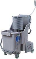 SmartColor™ Combo 30l (Rolemmer + Pers) grijs