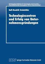 Technologiezentren Und Erfolg Von Unternehmensgrundungen