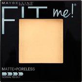 Maybelline Fit Me Matte & Poreless - 105 Natural - Gezichtspoeder