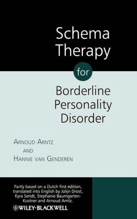 Boek cover Schema Therapy for Borderline Personality Disorders van Arnoud Arntz (Hardcover)