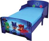 PJ Masks - Peuter Bed - 70 x 140cm - Blauw - Inclusief lattenbodem
