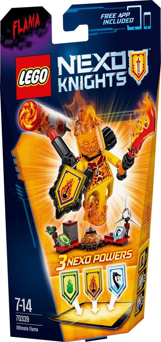 LEGO NEXO KNIGHTS Ultimate Flama - 70339