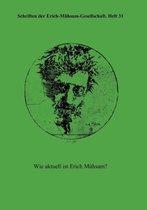 Schriften Der Erich-M Hsam-Gesellschaft, Heft 31
