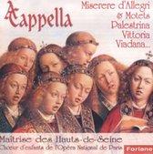 D'Allegri; Palestrina; Vittoria: Miserere, Motets
