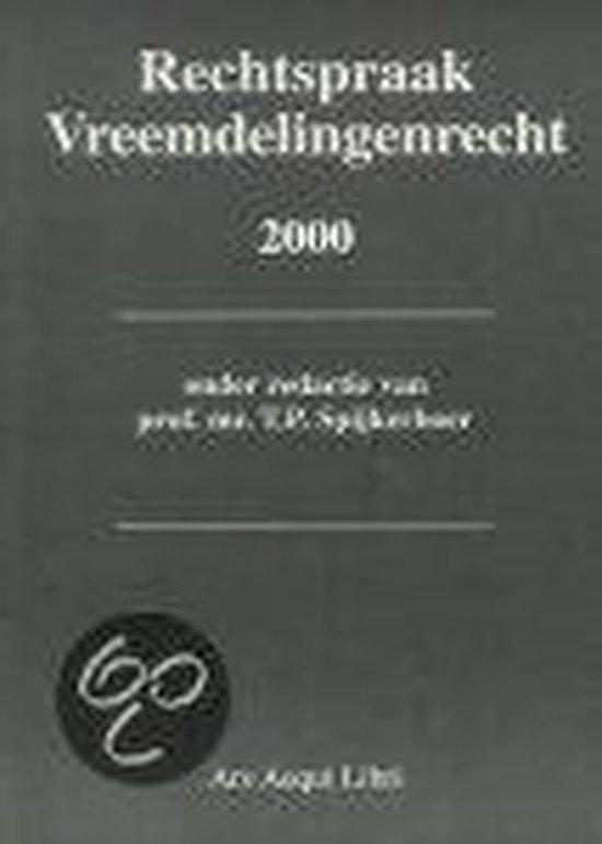 2000 Rechtspraak Vreemdelingenrecht - none  