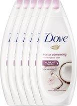 Dove Coconut Milk Douchegel - 6 x 250 ml - Voordeelverpakking