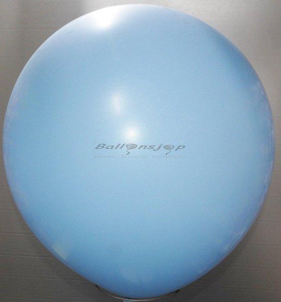 reuze ballon 80 cm 32 inch licht blauw