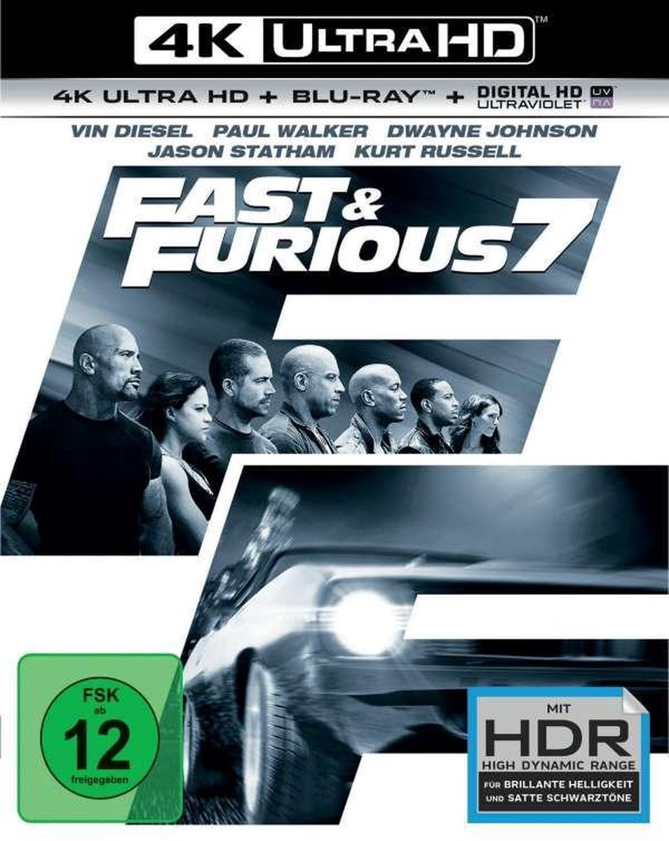 Fast & Furious 7 (Ultra HD Blu-ray & Blu-ray)-