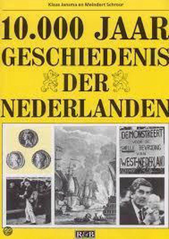 Boek cover 10000 jaar geschiedenis der Nederlanden van Klaas Jansma (Hardcover)