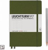 Leuchtturm1917 Notitieboek Army - Medium - Puntjes