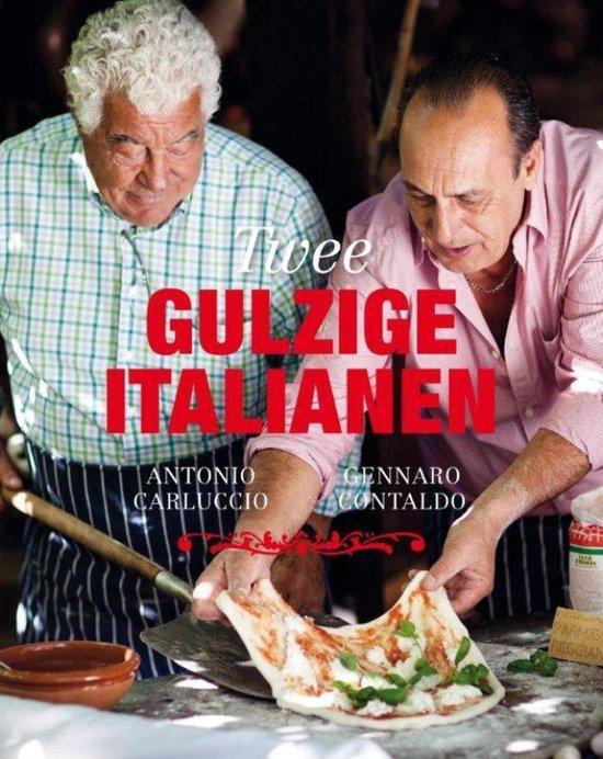 Boek cover Twee gulzige Italianen van Antonio Carluccio (Hardcover)