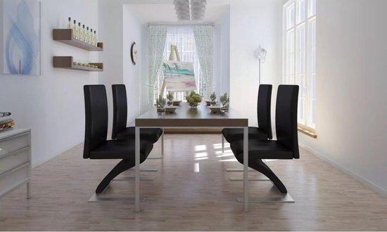Moderne zwarte eetkamerstoelen kopen? | Stoelen