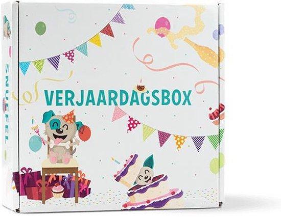 Snuffelbox Verjaardagsbox - Hondenspeelgoed - S - Voor Kleine Honden (tot 8 kg)