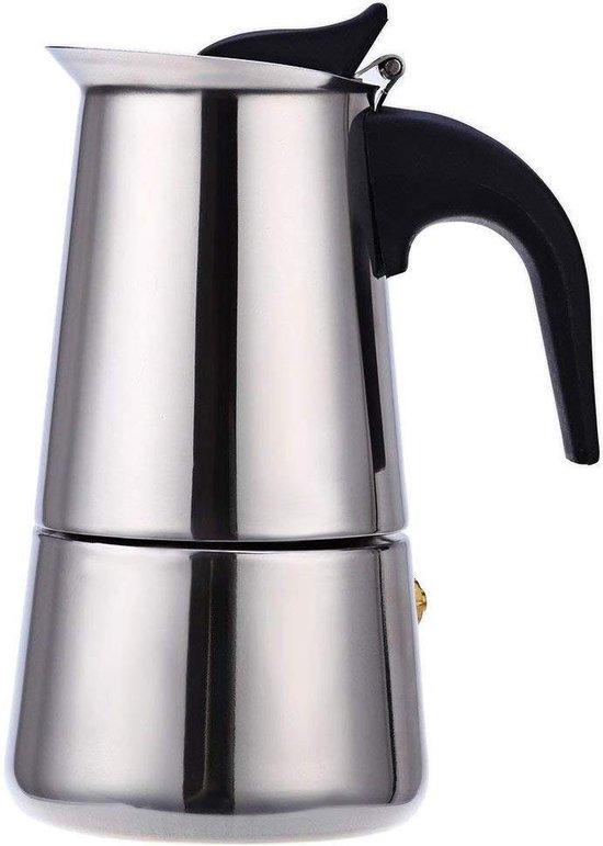 Percolator 9 kops - 500 ml - RVS espresso maker  / espressomaker