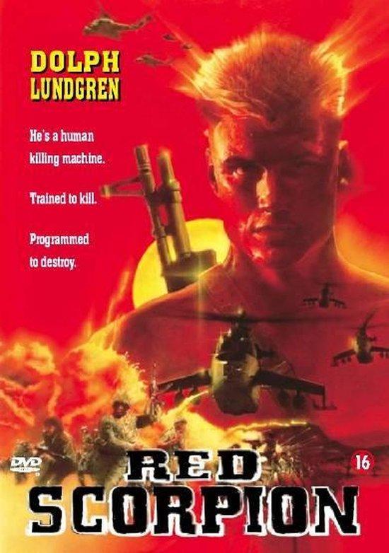 Cover van de film 'Red Scorpion'