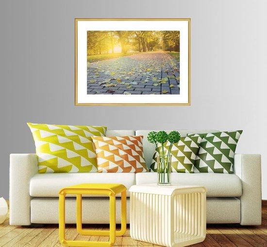 Homedecoration Almelo – Fotolijst – Fotomaat – 23 x 39 cm – Vintage Goud