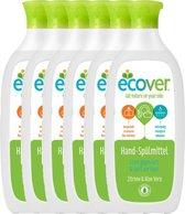 Ecover Afwasmiddel - Citroen & Aloe Vera - 6 x 500ml - Voordeelverpakking