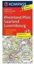 Kompass RTK3709 Rheinland-Pfalz, Saarland, Luxembourg
