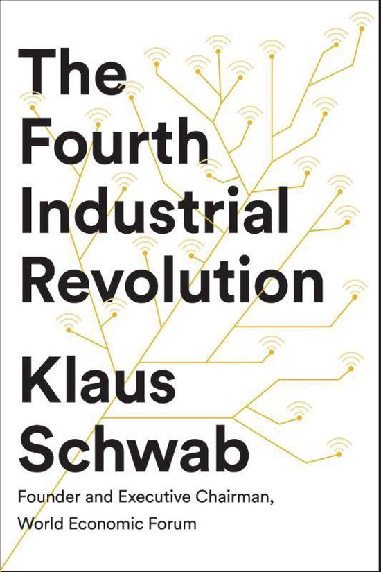 Boek cover The Fourth Industrial Revolution van Klaus Schwab (Paperback)