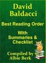 Omslag David Baldacci: Best Reading Order - with Summaries & Checklist