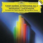 Saint-Saens: Symphonie no 3;  Messiaen: L'Ascension / Chung