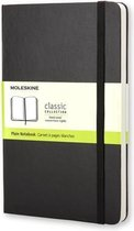 Moleskine Classic Notitieboek Hard cover - Large - Zwart - Blanco