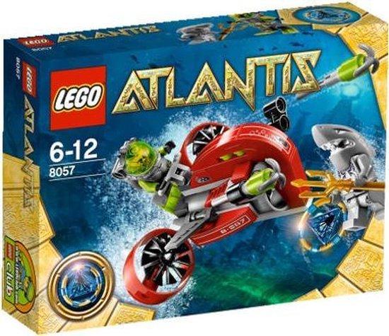 LEGO Atlantis Slag bij het scheepswrak - 8057