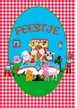 Uitnodiging kinderfeestje - Beestenboel - 15 stuks  - (A5) - Pukart