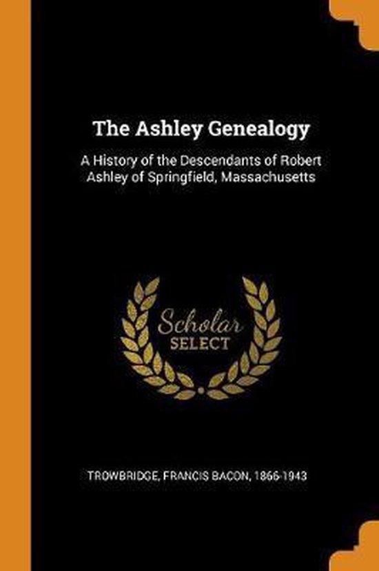 Boek cover The Ashley Genealogy van  (Paperback)