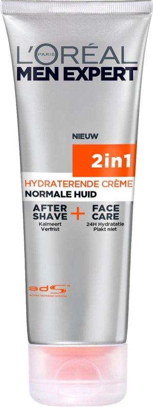 L'Oréal Men Expert Hydra Energetic 2in1 Aftershave en Gezichtscrème - 75ml