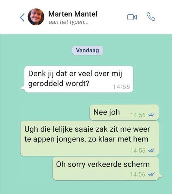 Aan het typen… - Marten Mantel |