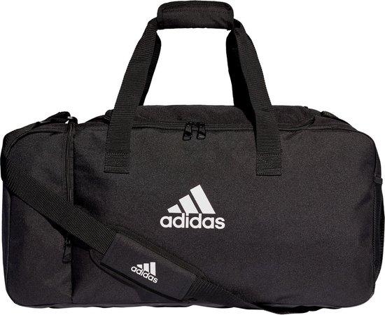 Adidas Tiro 19 Medium Sporttas Met Zijvakken - Zwart - M