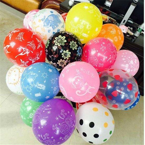Ballonnen Mix 8 stuks