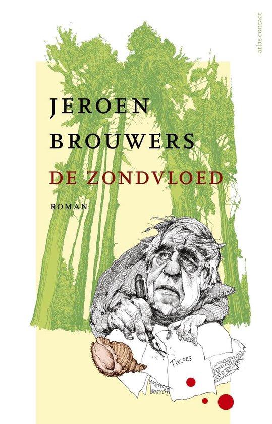 Boek cover De zondvloed van Jeroen Brouwers (Onbekend)