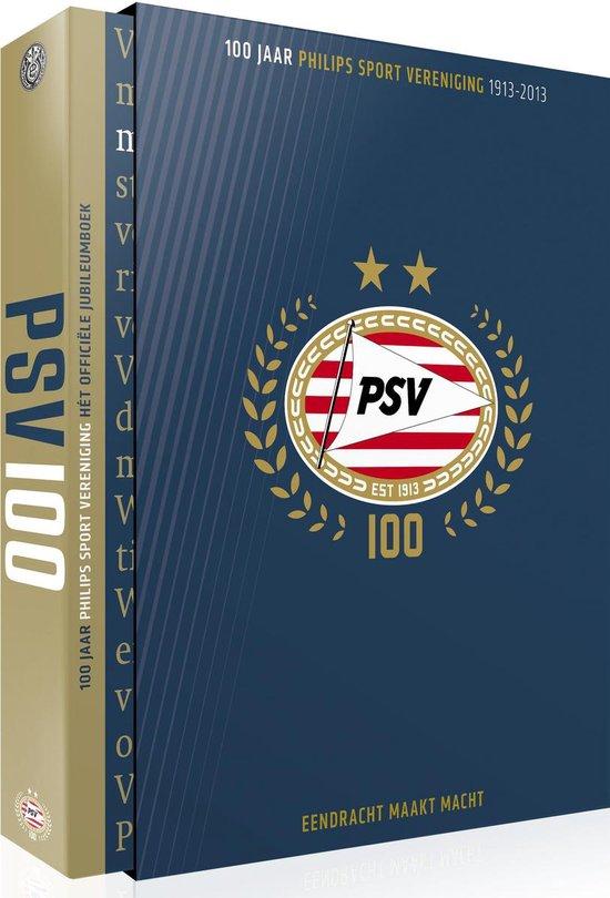 Cover van het boek '100 jaar PSV' van Frans van den Nieuwenhof